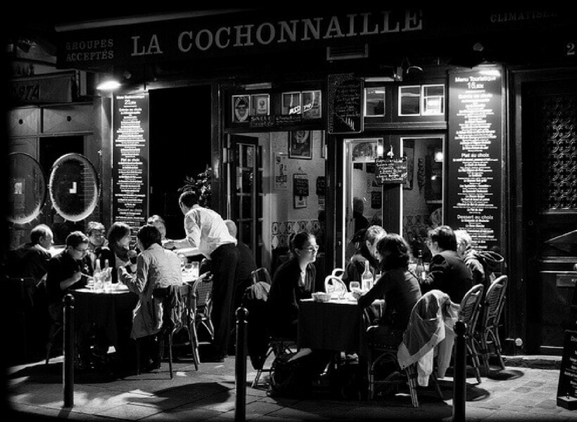 Restaurant in the Latin Quarter; Latin Quarter Walking Tour