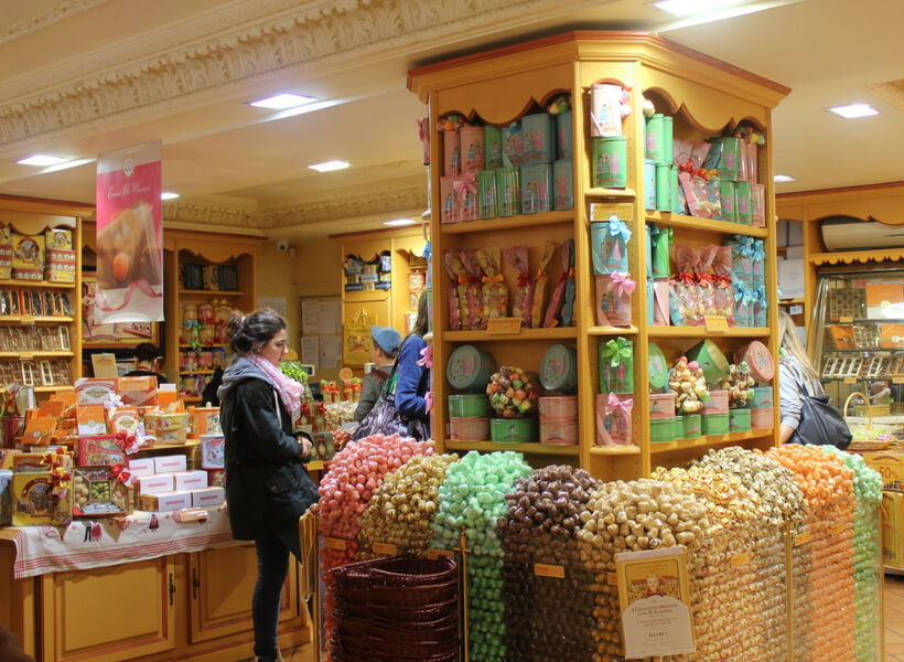 Candy Store in France: French Food you should eat in moderation