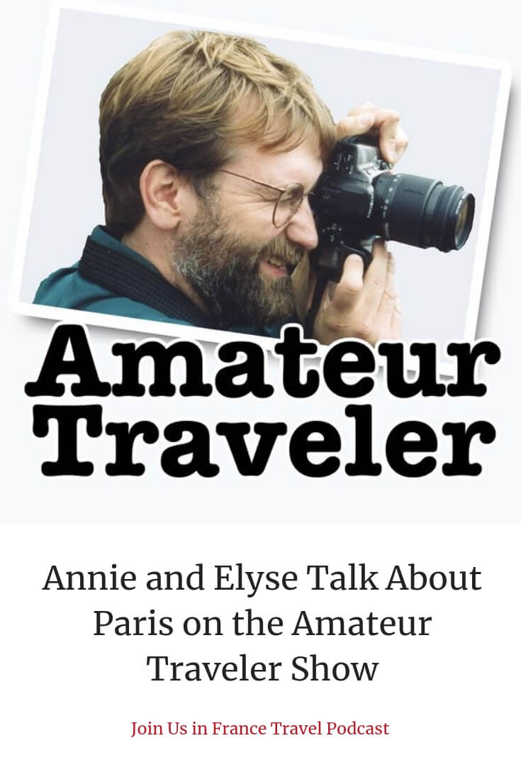 Amateur Traveler podcast has to be one of the oldest travel podcasts out there. We had the pleasure to appear on Chris Christensen's show to talk about Paris #travel #podcast #amateurtravelerpodcast