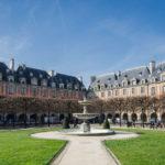 Place des Vosges in the Marais in Paris