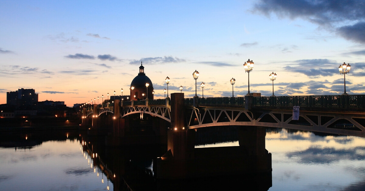 pont neuf in toulouse at sunset: top attractions in Toulouse episode