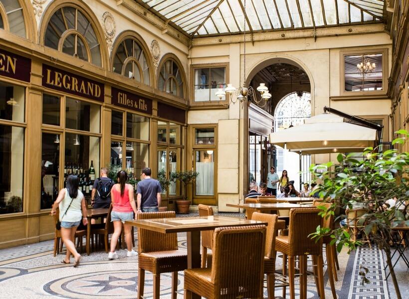 covered passages in paris: vivienne