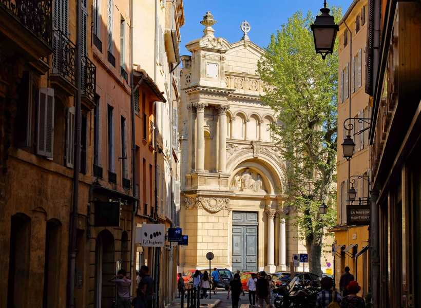 pedestrian street: top attractions in aix-en-provence
