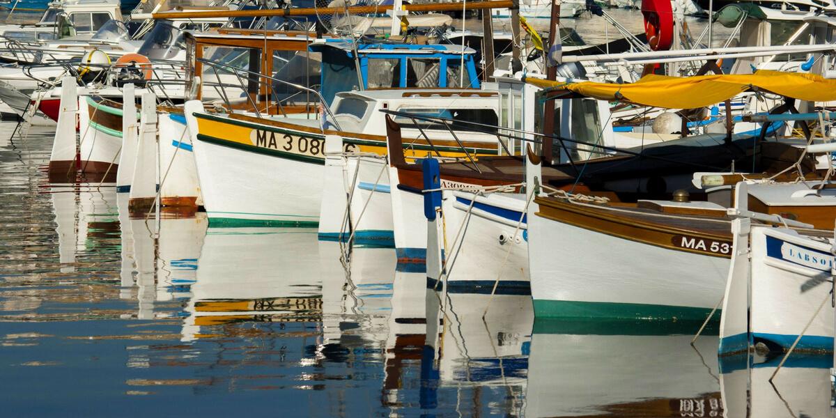 Marseille small boat port
