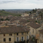 Saint-Émilion village seen from a rooftop