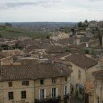 Saint-Émilion village seen from a rooftop