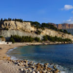 Beach near Cassis, France: cruise tours in provence episode