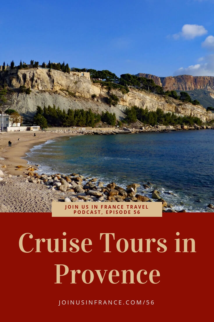 Are you doing a stop in Provence on your next cruise? It's a big area, but you can make the most of your few hours by touring Provence with a local guide. My guest on today's episode, Véronique Flayol, specializes in showing her native Provence to cruise visitors. She picks up passengers at the Marseille, Toulon or Villefranche docks and takes them to enjoy local the local culture, wine and gastronomy. #travel #podcast #france #provence #cruisetour