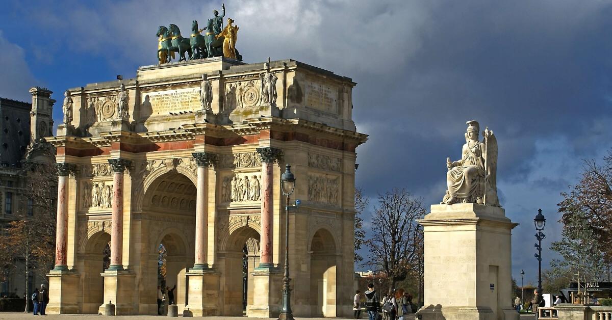 The Carroussel du Louvre in Paris: Napoleon in Paris Episode