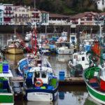 colorful boats at Saint-Jean-de-Luz: basque country episode