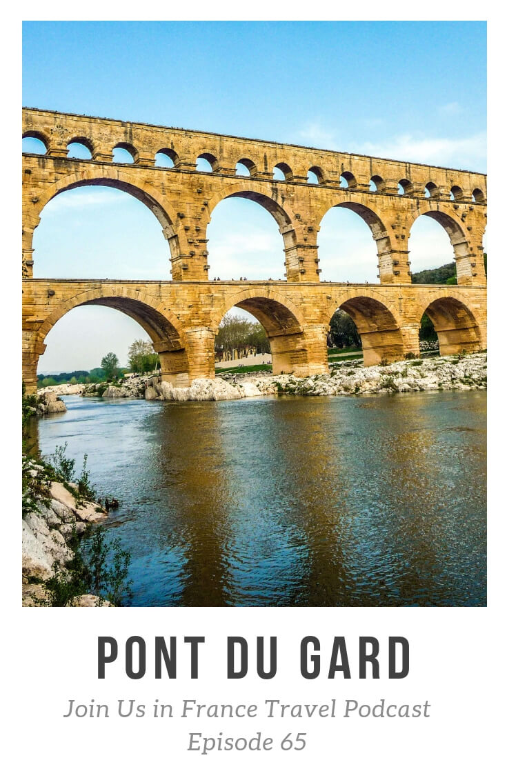 The Pont du Gard is almost 2000 years old and the biggest Roman edifice in France. It has been on the World Heritage Site for decades and, as I explain on the show, it is