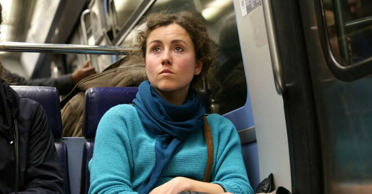 woman in the paris metro; 10 tips for getting around paris