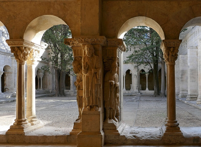 Cloister in Arles