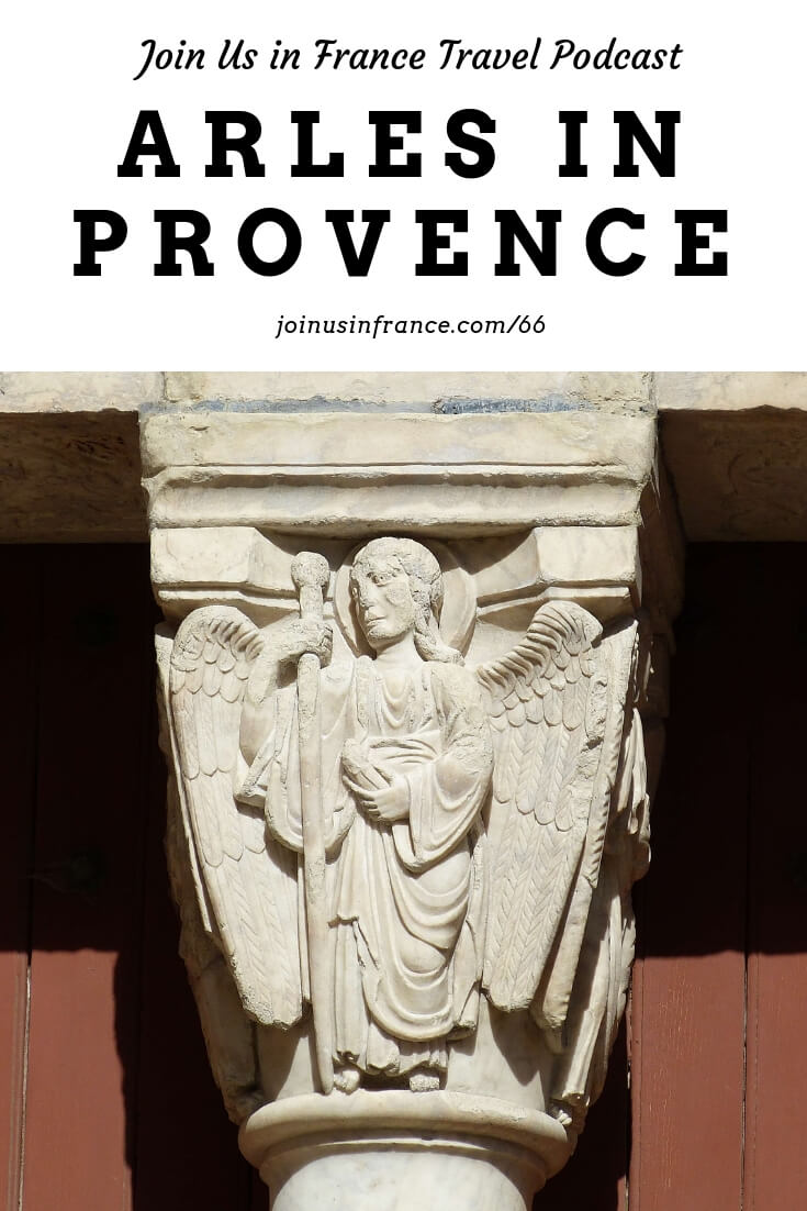 How did a minor city an hour away from the Mediterranean become a vital Roman ship-building town in Antiquity? Why do they have so many Roman ruins in Arles? This and more in today's episode of the Join Us in France Travel Podcast!