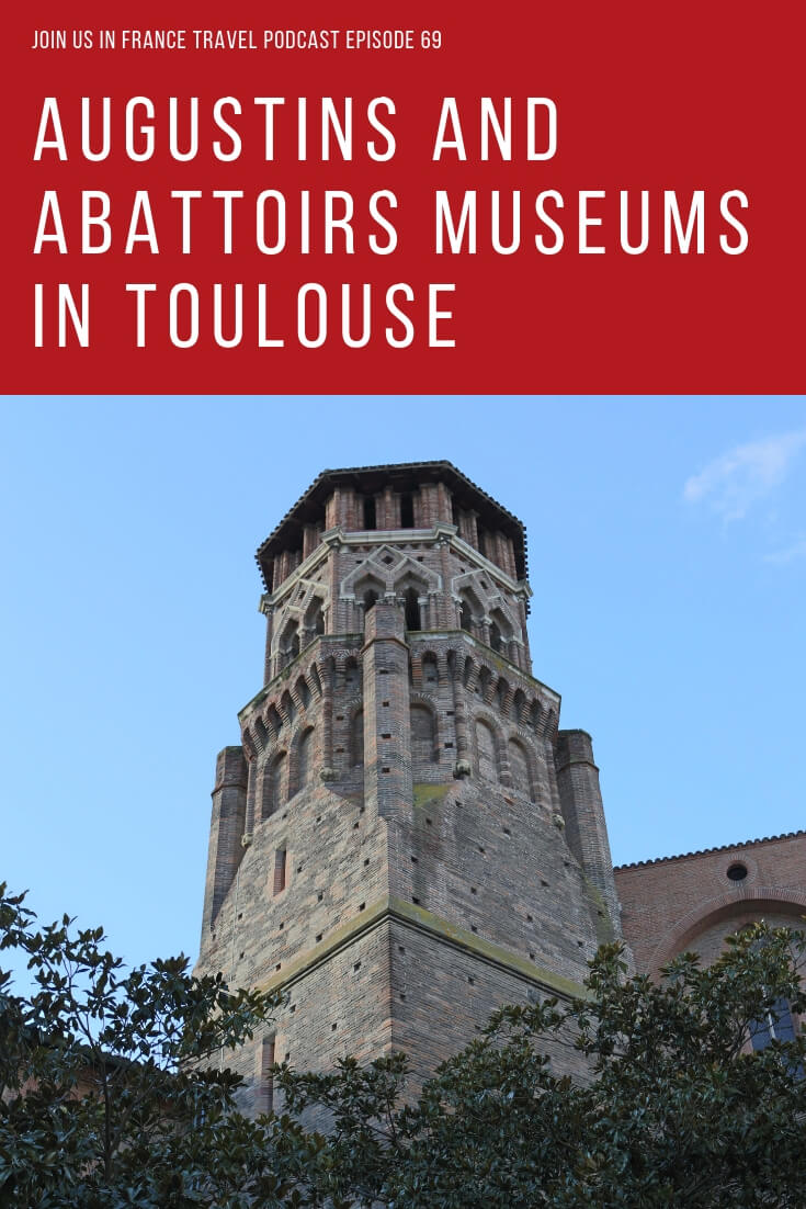 The Augustins Museum in Toulouse was the first museum to open to the public in France. Yes, it is older than the Louvre! The Abattoirs has a more gruesome history: it used to be a slaughter house. Both museums have a lot to offer and Elyse explains why you should visit them next time you come to Toulouse.