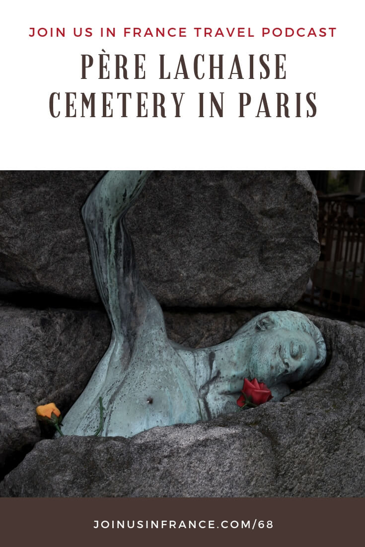 Are you a tombstone tourist? A tatophile? Are you simply curious about the most-visited cemetery in the world? In that case, Pere Lachaise is for you! So many famous people are buried at Père Lachaise! Jim Morrison, Oscar Wilde, Gertrude Stein, Marcel Proust, Bizet, Balzac, Molière, so many more! We share some tricks you need to know or you may never find the right grave! #Paris #France #PereLachaise #Cemetery #Spooky #Macabre #Halloween