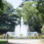 Water fountain at the Grand Rond in Toulouse: parks and gardens in Toulouse Episode