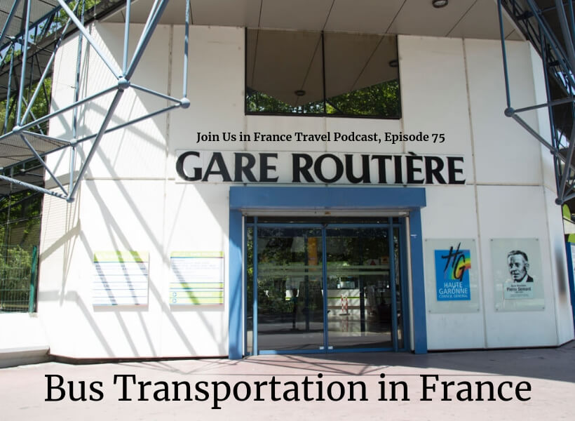 Regional train station in Toulouse: bus transportation in France episode