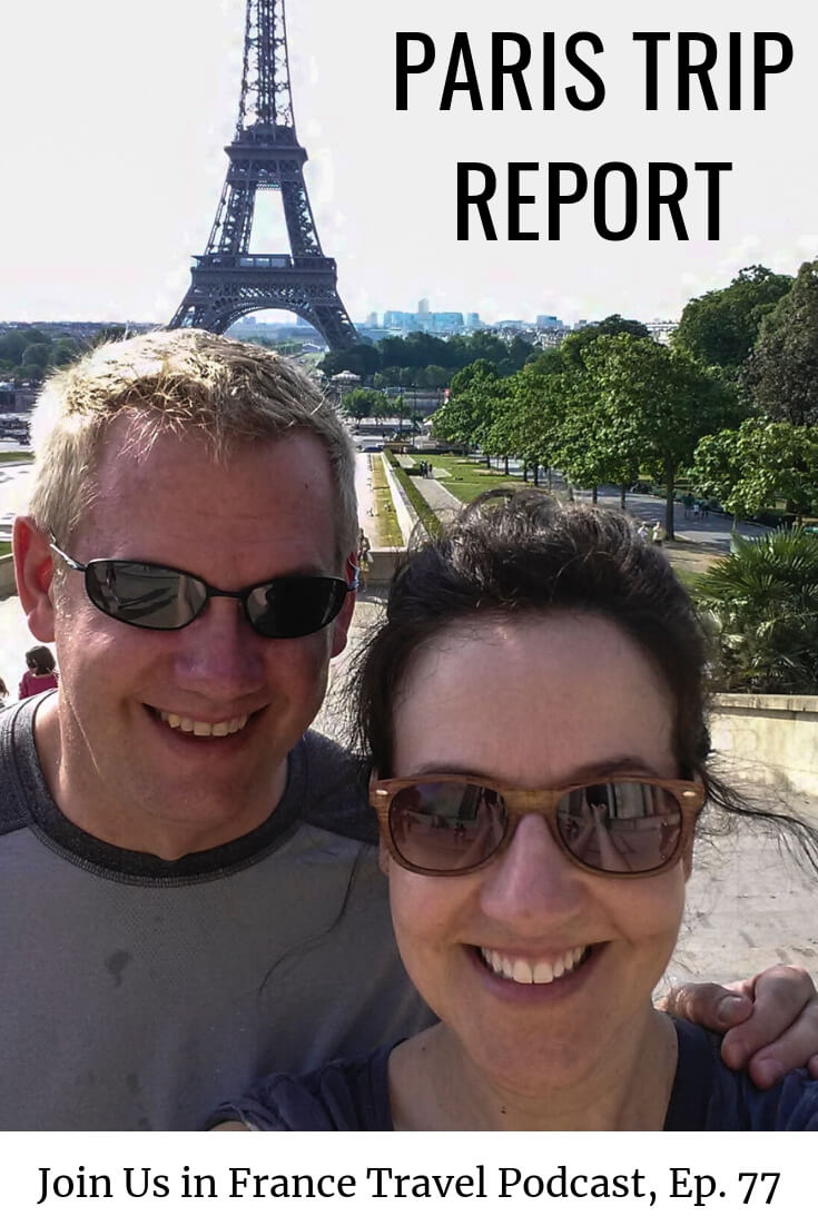 Need inspiration for your honeymoon in Paris? Shari and Craig have great suggestions for you. We also have lots of travel French phrases that will help you fit right in in France.