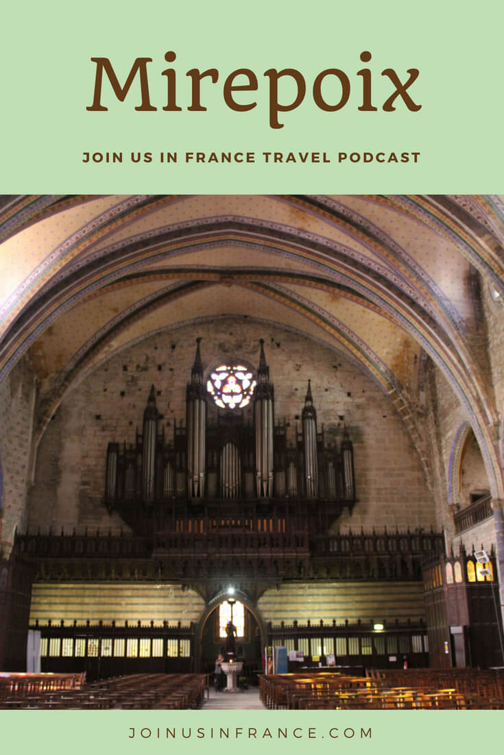When in France it is not difficult to find places that are both incredibly charming and off the beaten track. Mirepoix is one such place. It packs a lot of charm in a small area! It is also full of lovely cafés, restaurants, and there are a few good hotels too! Our favorite tour guide Elyse tells us all about it in today's episode of the podcast. #travel #podcast #france #occitanie