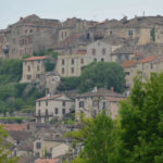 the hilly village of cordes-sur-ciel