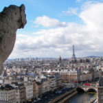 view from the top of the Notre Dame towers; paris highlights you can see in one day episode