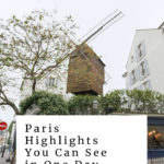 moulin de la galette in Paris: paris highlights you can see in one day episode