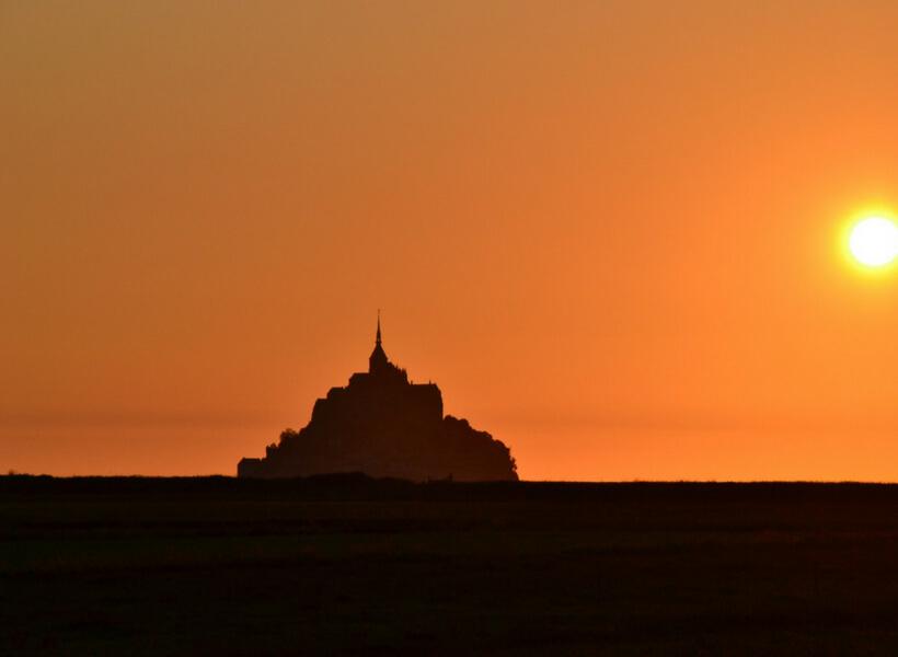 Mont-Saint-Michel at night: trip report normandy episode
