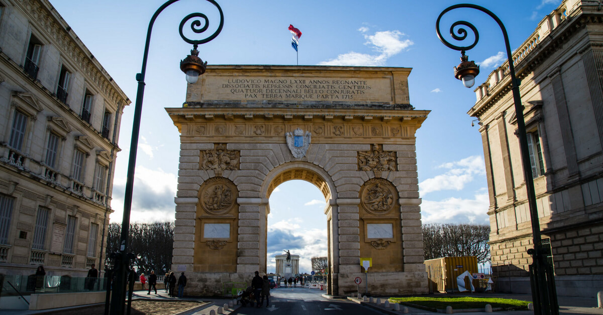 Arc de triomphe in Montpellier: Tips for Visiting Montpellier (France) episode