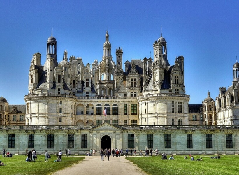 Château de Chambord, six day trips from Paris