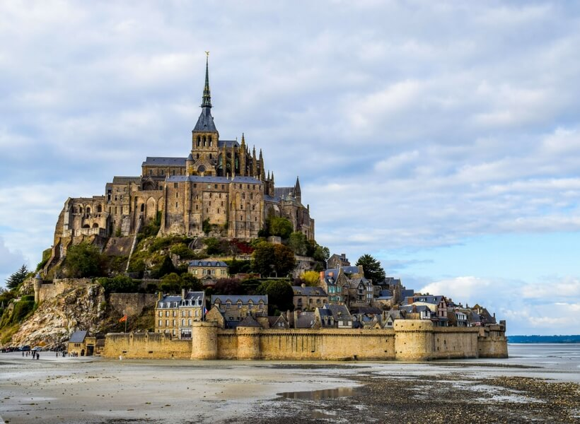 Mont Saint Michel; six day trips from Paris