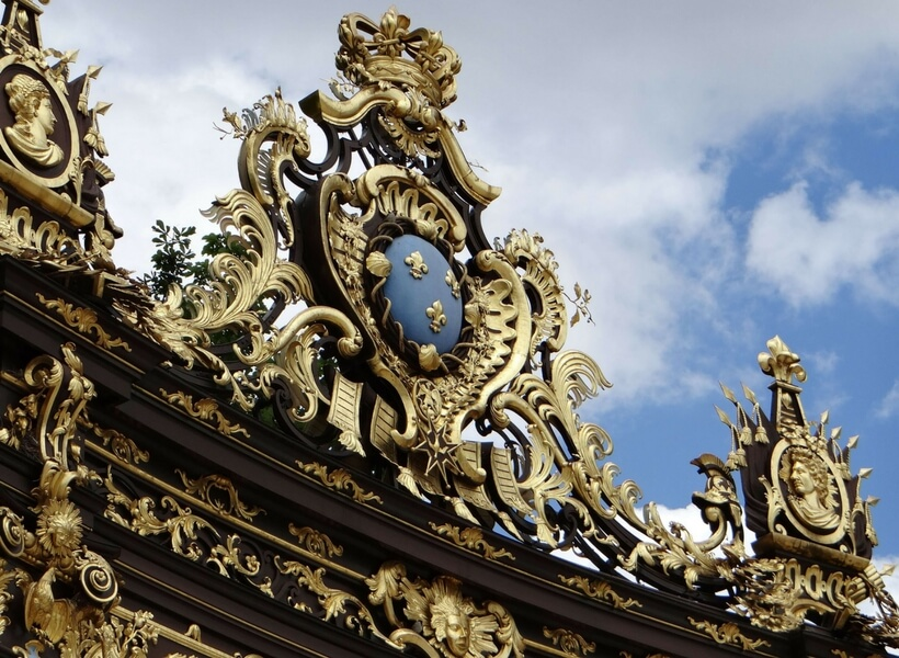 The gates of Place Stanislas in Nancy; six day trips from Paris
