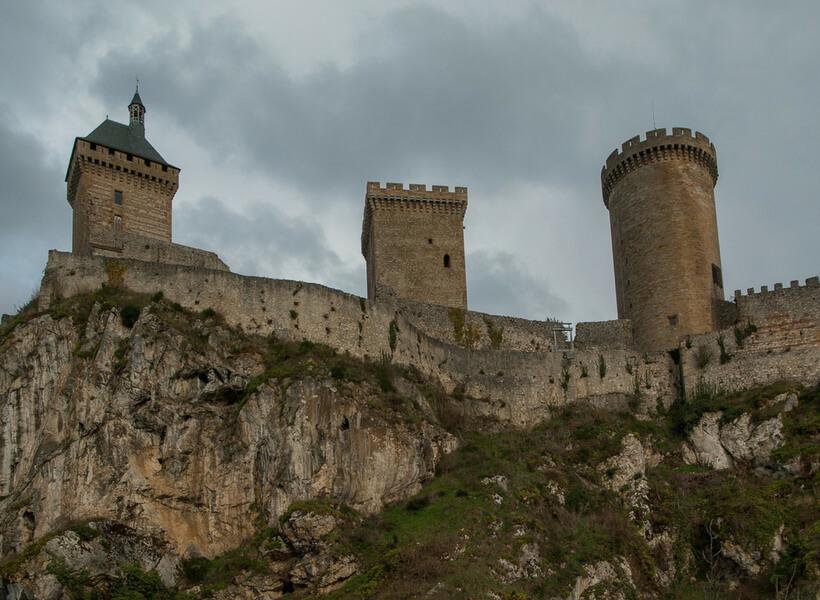 Chateau de Foix: Southwest of France with Children episode