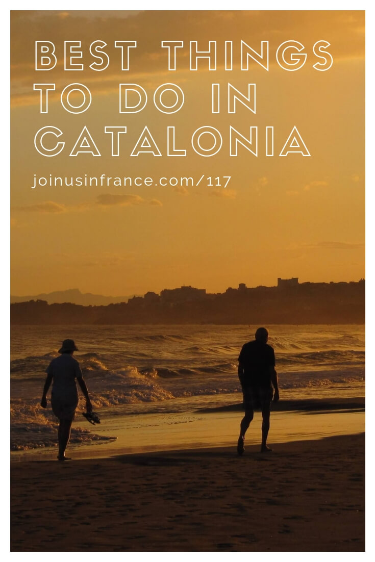 Visiting southern France and you want to see Catalonia too? Annie and Elyse love Catalonia and we share our favorite places around Barcelona in today's episode! Figeras, Cadaques, Barcelona, Sitges, Vilanova-i-la-Geltru, Tarragona, La Jonquera, Begut, Port Aventura, Begut, Gaudi, Gay Travel, Port Aventura, Rodalies Catalonia RegionalTrains