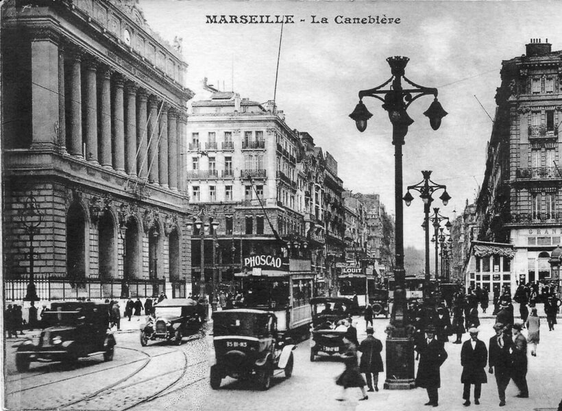 Old postcard of Marseille: Marseille and Provence with a French Expat Episode