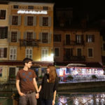 Katie and Nathan in Annecy