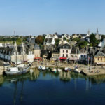 town of auray on the gulf of morbihan