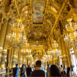 The Grand Ball room at the Opera Garnier