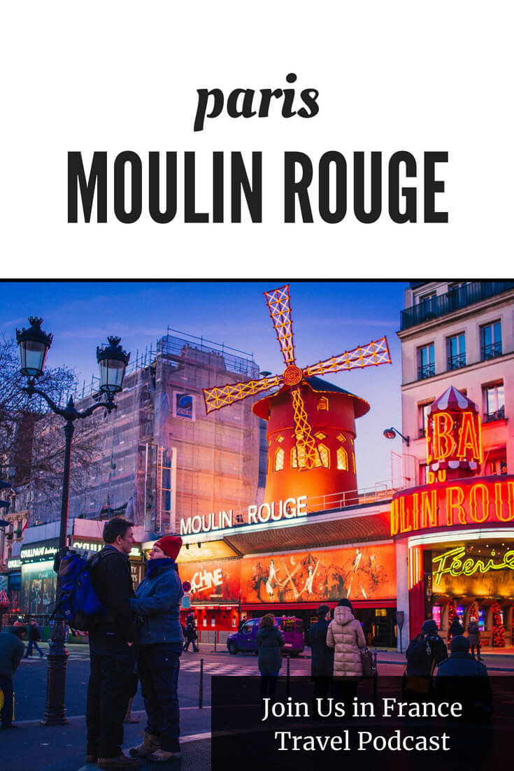 There are so many things to do in Paris, will the Moulin Rouge be worth it? Should you go with dinner and the show or just the show? Brenda and Gary, my guests on today's show, help you answer that question for yourself. One thing is for sure: it's all about the bling at the Moulin Rouge!