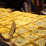 Tartiflette vendor at the Paris Christmas Market