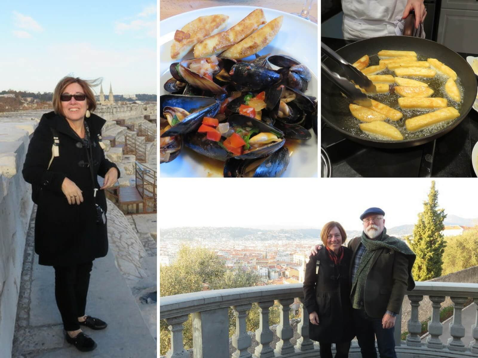 Visiting southern France in winter, Christine Hegerty