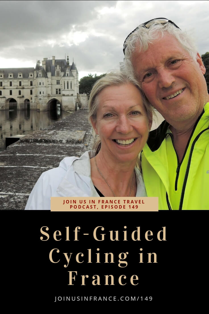 Cycling is hugely popular in France. As soon as you leave French cities and hit the French countryside, you'll see a lot of cyclists, especially on a sunny day! On today's episode Jim tells us how he and his wife have enjoyed several self-guided cycling vacations in France. They've been to the Loire Valley, the Bourgogne area, Provence, and are planning one in the Bordeaux area. #cycling #france #selfguided
