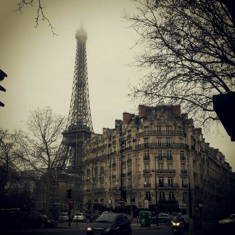 Passy neighborhood and Eiffel Tower; Secrets to Finding an Apartment in Paris with Phil