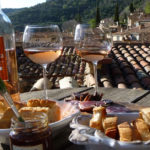 An Exploration of French Wines, rosé on a roof terace: French Wines episode