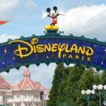 Entrance sign at Disneyland Paris
