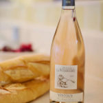 Bottle of rose wine and bread: French Wines episode