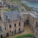 chateau in brittany seen from above: brittany with kids episode