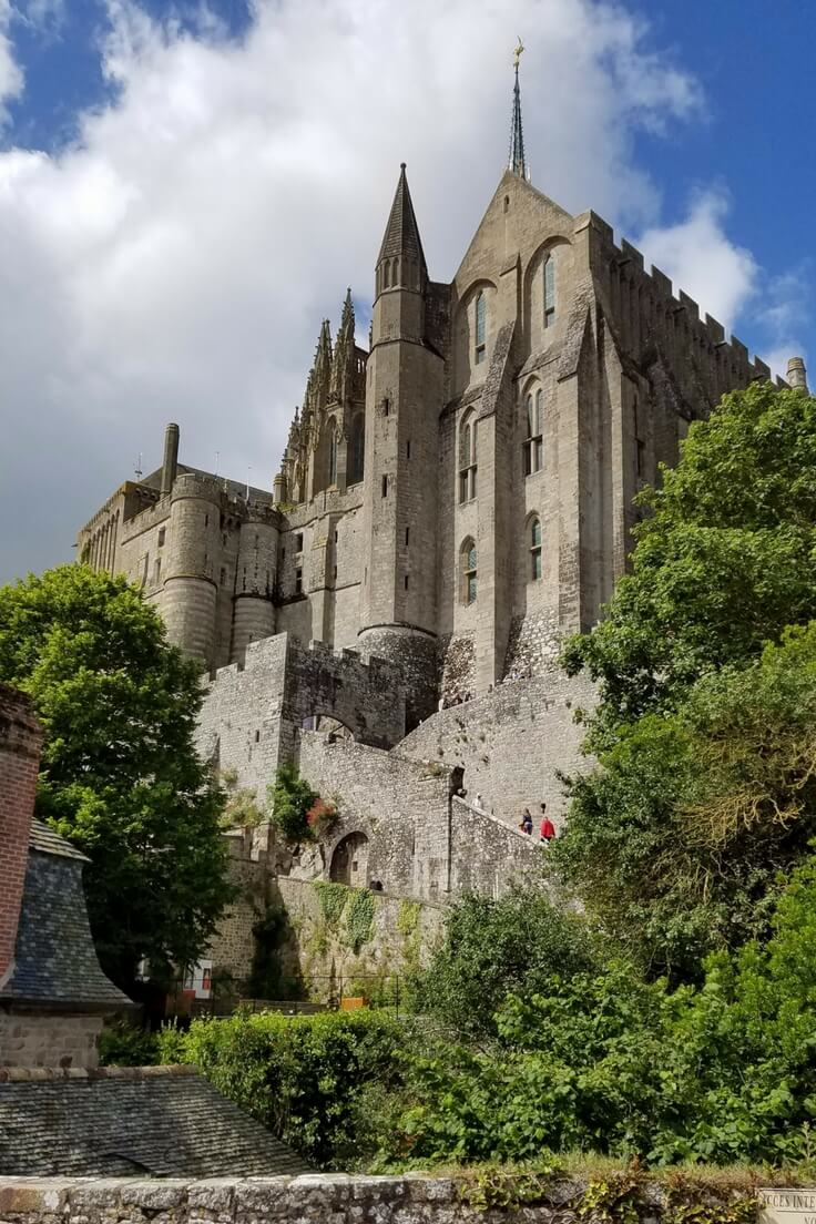 Mont-Saint-Michel; Visiting Normandy with Teenagers