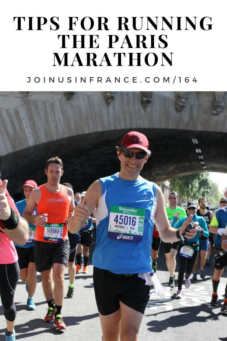 Thinking about running the Paris Marathon? Get actionable tips from Mike who went to Paris for the first time in order to run the Paris Marathon. Mike is a seasoned runner, but this was his first time running in Paris, so he noticed some important details that can help you make your own Paris Marathon experience a success! #travel #podcast #france #paris #marathon #activefrancevacations, #marathonparis, #joinusinfrancetravelpodcast