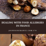 chocolate and hazlenuts on a beautiful table and ice cream cones: food allergies episode